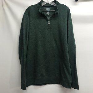 Mens Croft & Barrow Sweatshirt Green XXL